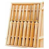 PSI Woodworking LCHSS8 HSS Wood Lathe Chisel Set-