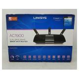 Linksys AC1900 Dual Band Smart Wireless Router wit