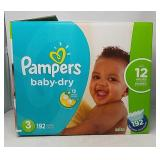 Pampers Baby Dry Sesame Street Diapers Size 3,