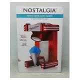 Nostalgia Electrics RSM702 Retro Series Single Sno