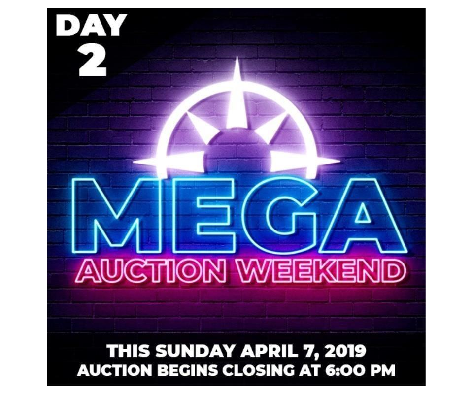 9017cca9382c MEGA Online Auction Weekend Day 2 – Sun. April 7