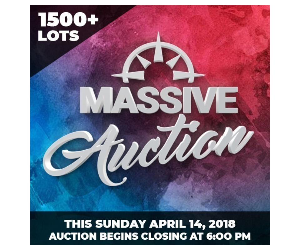 37810207fa3 MASSIVE Online Auction - Sunday April 14, 2019