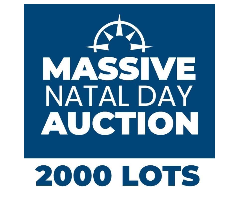 Massive Natal Day Online Auction