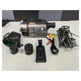 Sony 330X Digital Zoom Handycam Vision With Carry