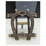 circa 1900 Mi?kmaq Twig Easel Style Picture Frame