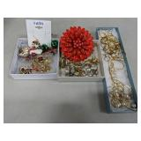 3 Boxes of Vintage Fashion Jewelry