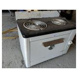 Small Electric Camp Stove With Oven (Not CSA Appro