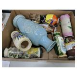 Box Lot of Assorted Vases