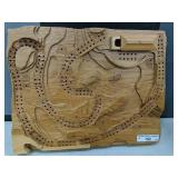 Hand Crafted Golf Course Landscape Crib Board