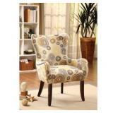 Benzara BM161516 Living Room Chair Multicolor