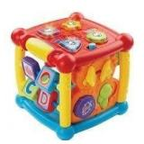 VTech Busy Learners Activity Cube (Frustration Fre