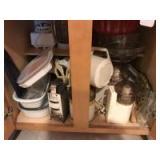 Food processors; blender; mixing bowls