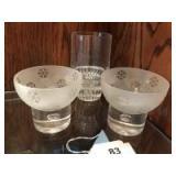 3 glass vsses