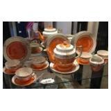 Asian tea & dessert set
