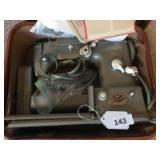 Pfaff 332 sewing machine in case