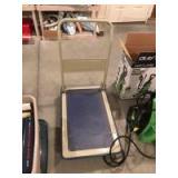 Push cart w/ folding handle