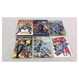 Captain America assorted graphic novels - 6 books