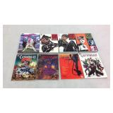 Cat Woman assorted graphic novels- 8 books