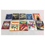 Assorted graphic novels- 10 books