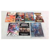 Captain America Assorted graphic novels- 7 books