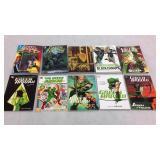 Green Arrow graphic novels- 10 books