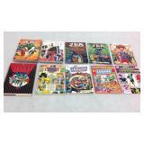 JLA assorted graphic novels- 10 books