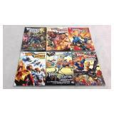 Teen Titans graphic novels- 6 books