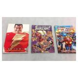 Assorted graphic novels- 3 books