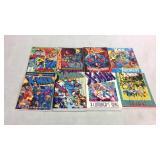 X-Men assorted graphic novels- 8 books