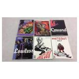 Assorted graphic novels- 6 books