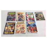 Assorted graphic novels- 7 books