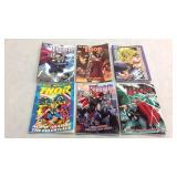 Thor assorted graphic novels- 6 books
