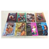 Assorted graphic novels- 8 books