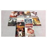 Scalped assorted graphic novels- 10 books