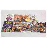 Assorted graphic novels- 9 books