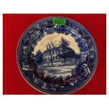Wedgwood Plate Lincoln Home
