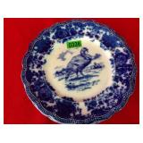 7 Ridgways England Blue & White Transferware
