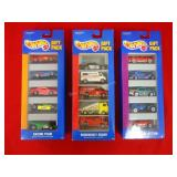 3 Hot Wheel gift packs