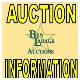 Auction Information-