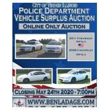 City of Virden Police Department Vehicle Surplus