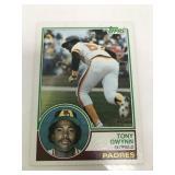 1983 Topps #482 Tony Gwynn Rookie Card