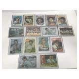 15- Mickey Mantle Topps Finest Protectors