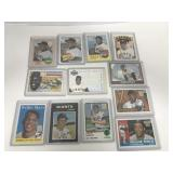 12- Willie Mays commemorative cards