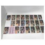 23-1978 Topps Basketball Cards-Frazier, Gervin,