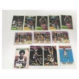 12-Older Basketball Cards