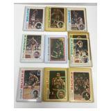 10- 1978 Topps Basketball Cards- Gervin