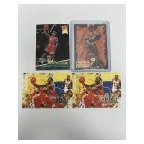 5 Fleer Michael Jordan Basketball Cards