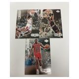 3- Michael Jordan UD Black Diamond Basketball