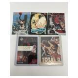 5- Michael Jordan Basketball Cards