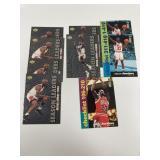 9- Upper Deck Michael Jordan Basketball Cards